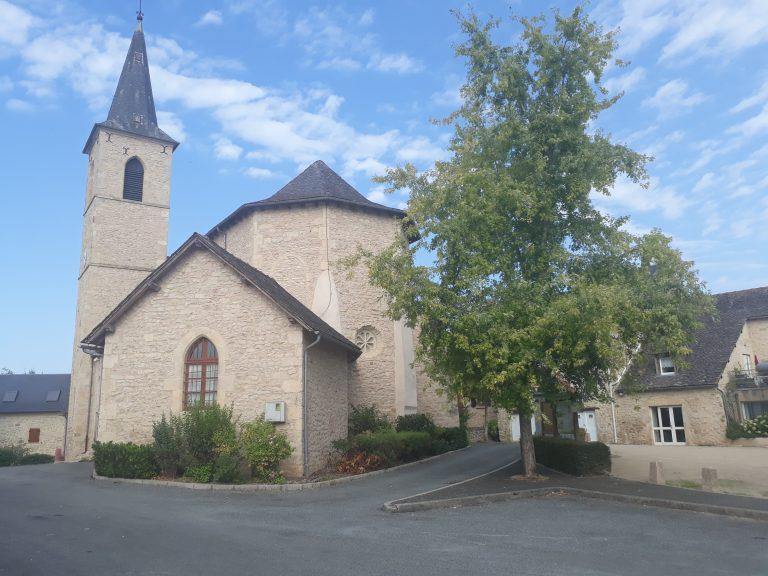L'église de Roussennac