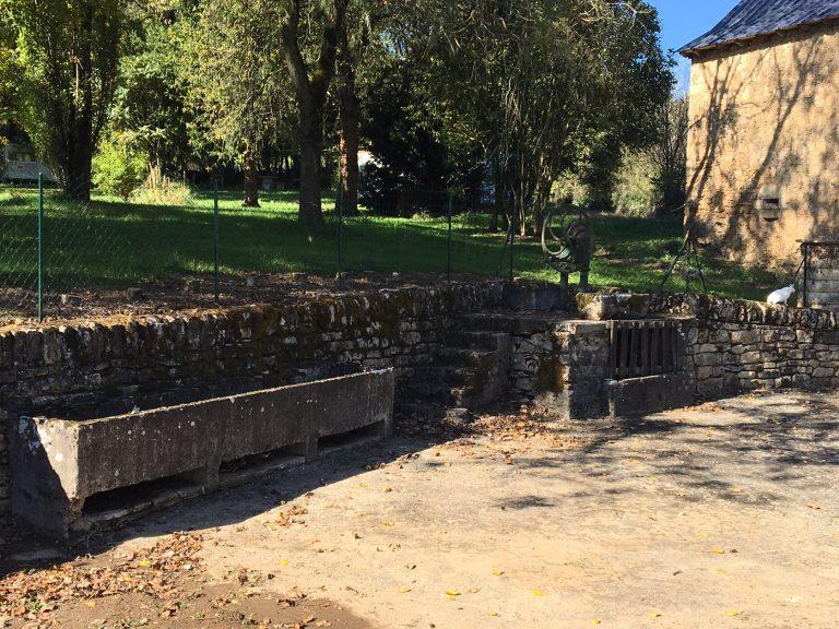 La fontaine de Roussennac