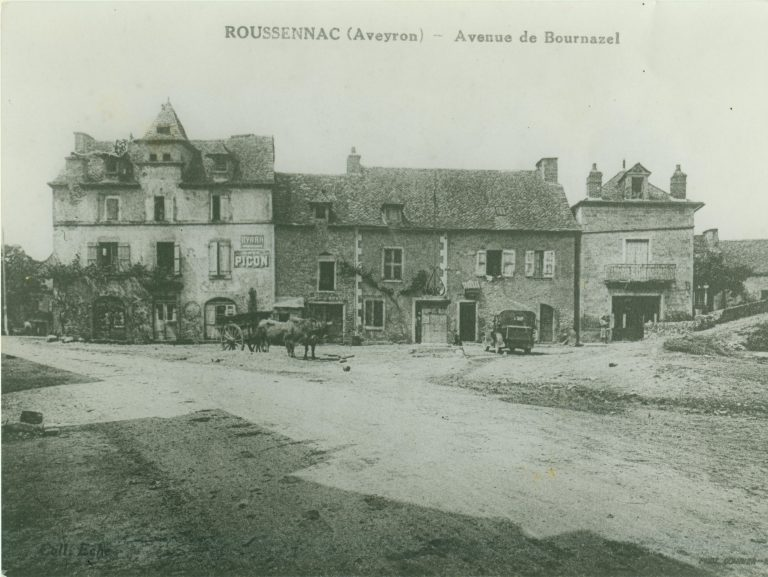 Avenue de Bournazel avant