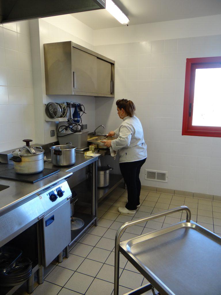 Cuisine de l'école de Roussennac