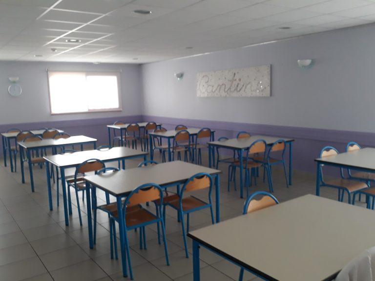 Réfectoire de l'école de Roussennac
