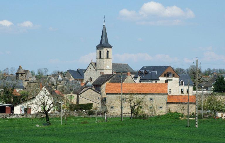 Le village de Roussennac après