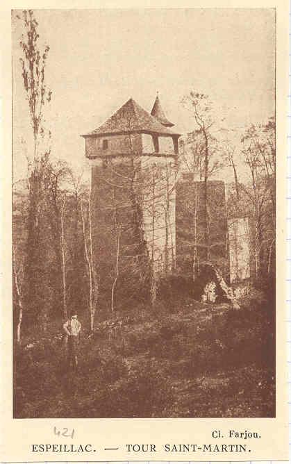 La tour Saint-Martin d'Espeillac